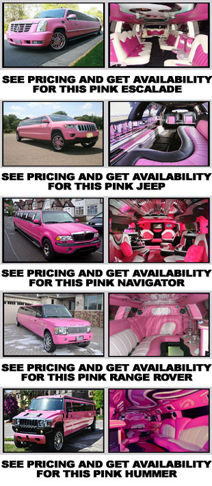 Pink Limo Los Angeles
